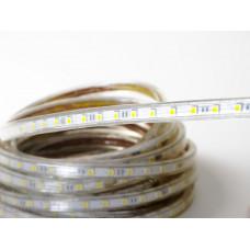 Светодиодная лента 220 V LP IP68 5050/60 LED (теплый белый, standart, 220)